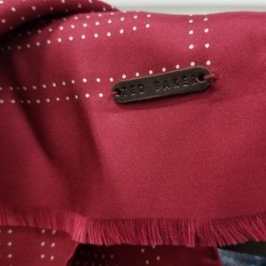 Ted Baker silk scarf.
